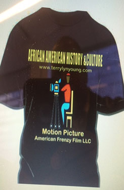 American Frenzy Film T-Shirt