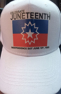 Celebrate June Tenth Hat