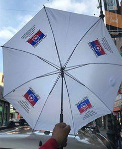 Celebrate June Tenth Umbrella