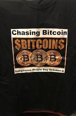 Chasing Bitcoin T-Shirt
